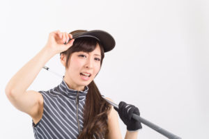 女性ゴルファー日焼け防止・美肌対策!