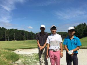 2017夏期ジュニアゴルフ合宿を実施